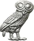 De --SGOvD webmaster (talk) 19:11, 24 July 2006 (UTC) - File:Owl of Minerva.png, CC BY-SA 3.0, https://commons.wikimedia.org/w/index.php?curid=7228724