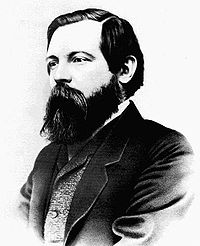 Engels. From: wikipedia.org