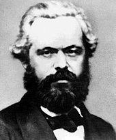 Marx en 1861. From: wikipedia.org